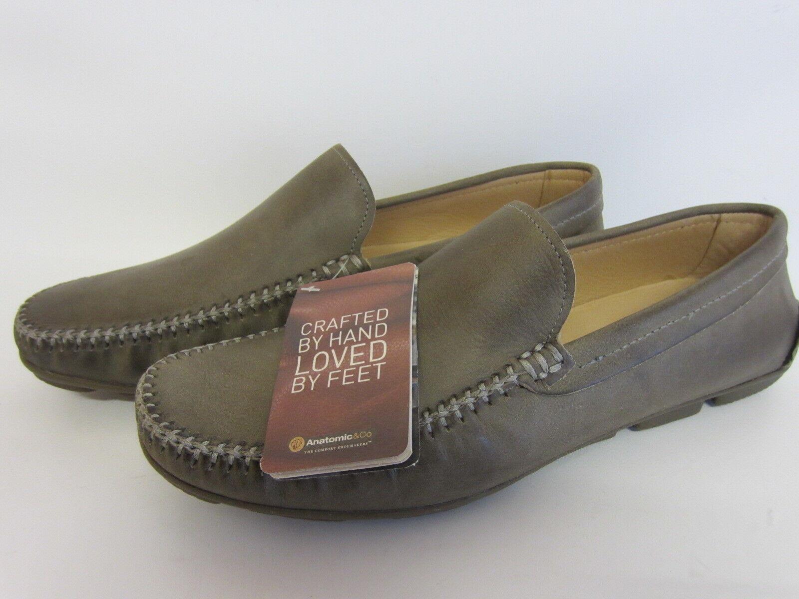Anatomic Zapato aruja Cuero Caqui Chumbo Vintage Zapato Anatomic (LR ) 21a985