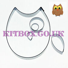 Owl Cutter 5 Set for Sugarcraft, Crafts, Polymer Clay and Cake Decorating