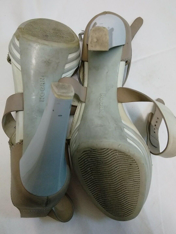 scarpe donna hogan misura 39 vera pelle altezza tacco cm 10 5