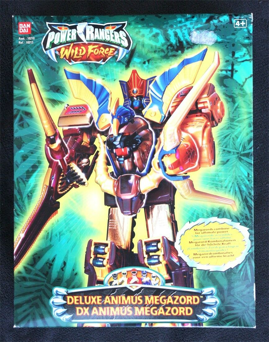 POWER RANGERS WILD FORCE (2002), DELUXE ANIMUS MEGAZORD DX. BRAND NEW OLD STOCK