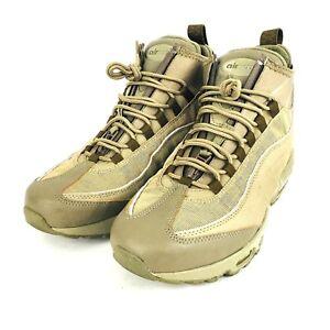1fba722d49 Nike Air Max 95 Sneakerboot Beige Khaki 806809 200 Mens Size 9.5 ...