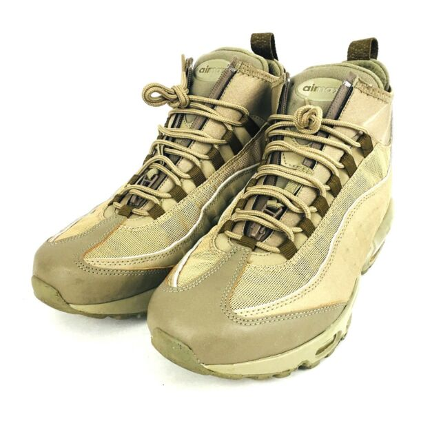 newest 1af1f 5762a Nike Air Max 95 Sneakerboot Mens BOOTS 7 Khaki Matte Olive