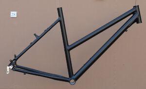 Trekkingrad-Sport-Damen-Rahmen-54-cm-schwarz-matt-28-034-Aluminium-STD-NR028