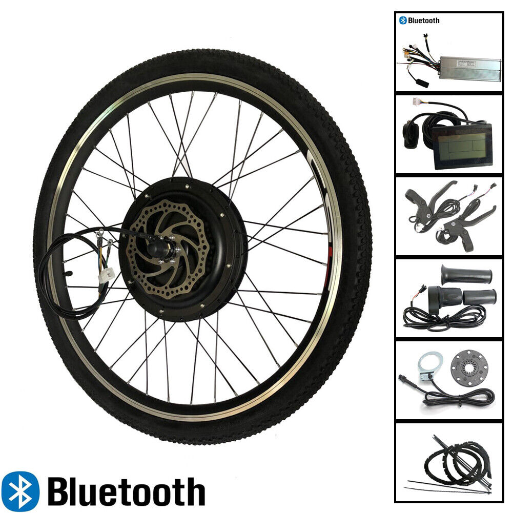 E  bike Motor Wheel 48V 1000W blueetooth Cruise LCD3 Electric bike Conversion Kit  free and fast delivery available