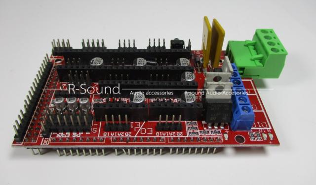 1pc 3D Printer Reprap Ramps 1.4 Control Board Expansion Board MendelPrusa C4 ZH