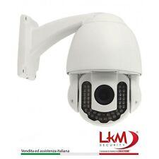 TELECAMERA IP WIRELESS DA ESTERNI LKM P2P Wifi HD 720P Zoom 5x VIDEOSORVEGLIANZA