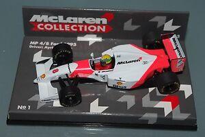 Minichamps-F1-1-43-McLaren-Ford-MP4-8-AYRTON-SENNA-McLAREN-Collezione-Edizione