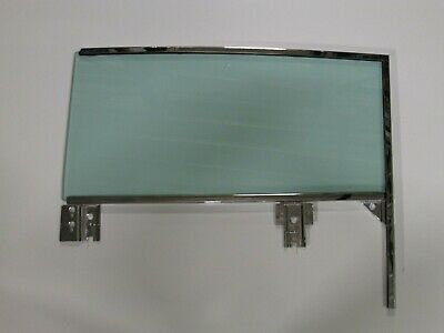 Door Glass 59 60 Buick Cad Chevy Olds Pont Convertible Assembled in Frames LH GT