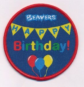 Beaver-Cub-Scout-Happy-Birthday-Badge-Fun-Badge-Official