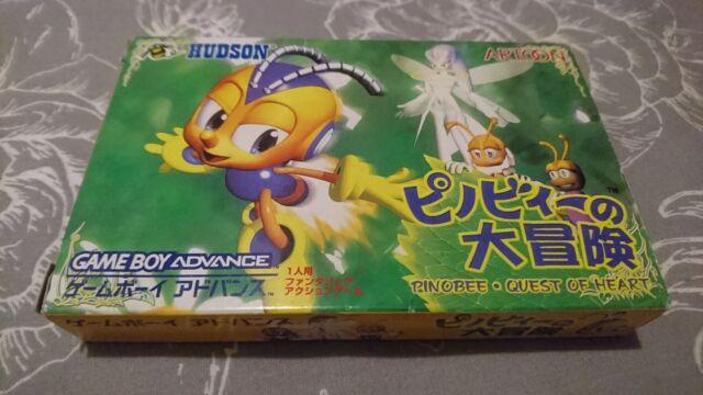 Pinobee no Dai Bouken Nintendo GameBoy Advance Japanese