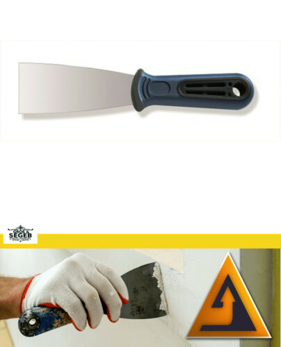 Malerspachtel Gipser Spachtel Werkzeug Flächenspachtel Stuckateurspachtel 75 mm