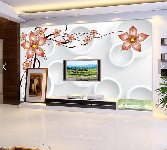 3D Zweige, bluemen, Mode 49 Fototapeten Wandbild Fototapete BildTapete Familie DE