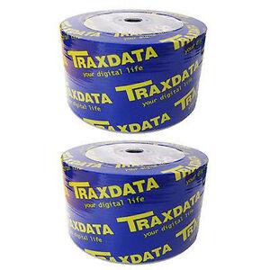Blank-CDs-Pack-100-TraxData-CD-R-Data-Backup-Storage-Media-Computer-Disc