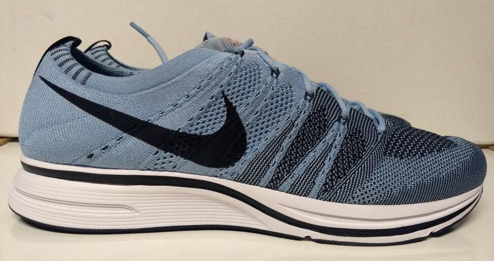 Nike 13 flyknit trainer dimensioni 13 Nike cirri bianco nero blu ah8396-400 Uomo scarpa e044d7