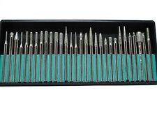 30pc Diamond Burr Set Glass Engraving Fits Dremel & Rotary Tool Drill Bits SE249