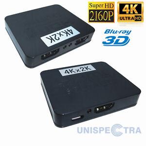 2-VIE-1x2-4K-1080P-HUB-3D-Amplificatore-Splitter-HDMI-Switcher-Per-HD-Tv-PC-PS3-DVD