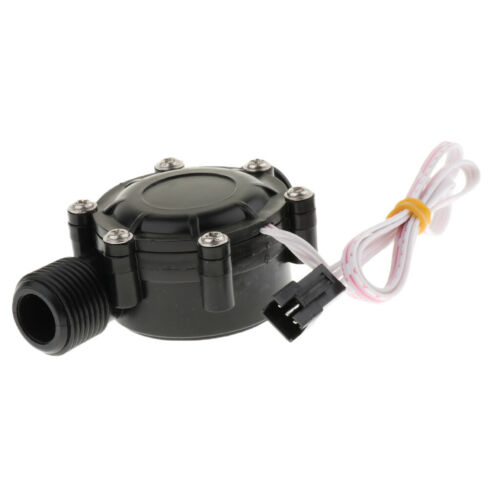 DC 12V Water Turbine Generator Micro Hydro Hydroelectric Water Charger .