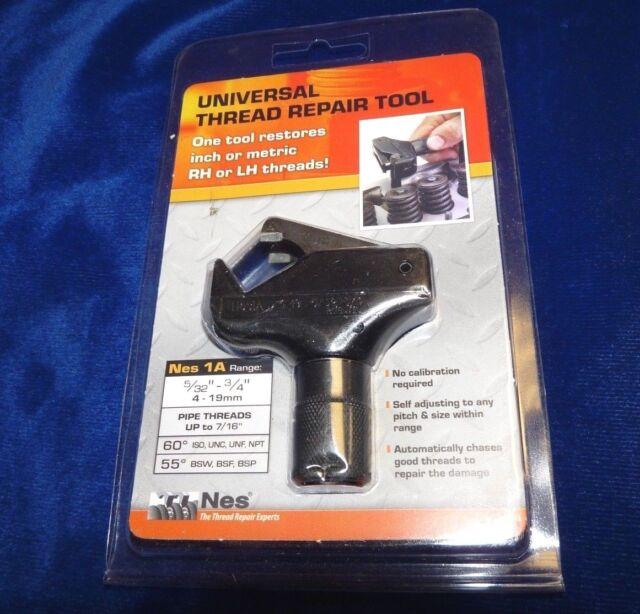 NES 06040 5//32-1//2 ThreadMate External Thread Repair Tool UNIVERSAL SAE METRIC