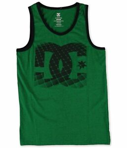 Dc-Mens-Dissolve-Tank-Top-Logo-Magnify-Turf-Green-Htr-Small