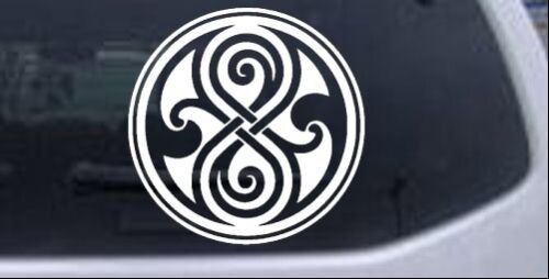 Doctor Who Time Lord symbol Seal of Gallifrey Car Truck Window Decal 4X4