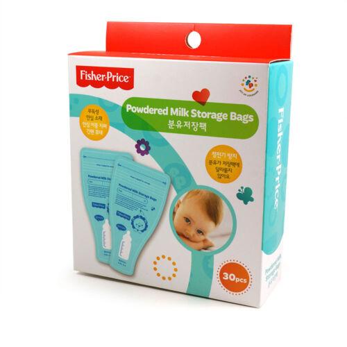 Fisher Price Disposable Milk Powder Storage Bags 30 50 100 Count BPA Free
