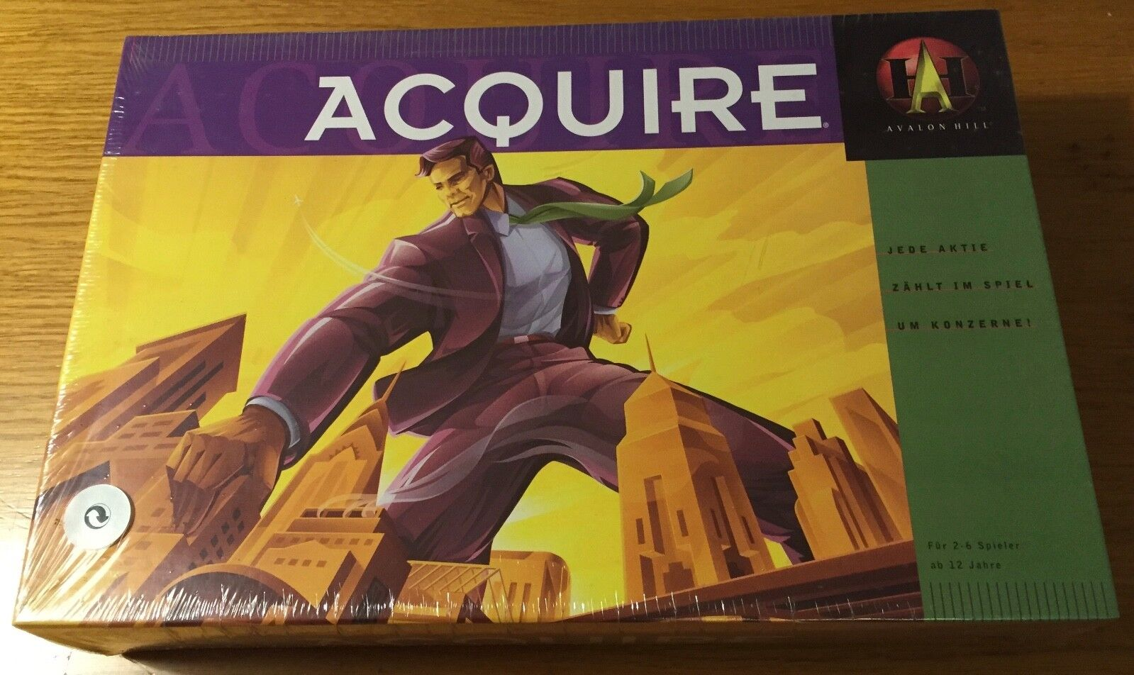Acquire - Avalon Hill Hasbro 1999 - Sigillato Sealed Shrinkwrapped