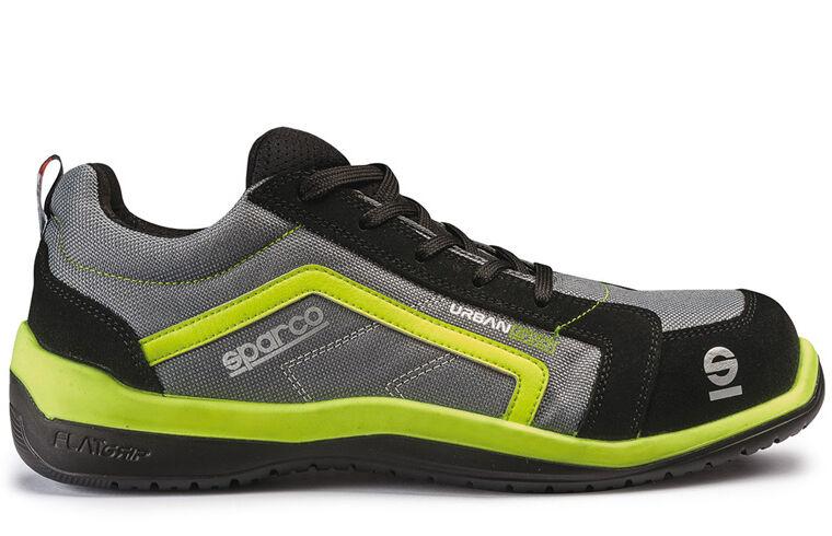 Sparco giallo urban evo S1P scarpe antifortunistiche grigio giallo Sparco fluo num disponibili 965f70