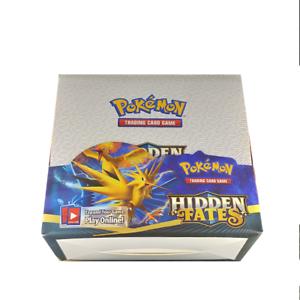 324Pcs-Pokemon-TCG-Sun-amp-Moon-Hidden-Fates-Booster-Box-Trading-Card-Game