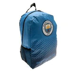 Manchester City Backpack (Official Licensed Merchandise)