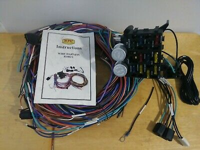 [DIAGRAM_38ZD]  Universal 12 Circuit GM Wire Harness Kit Part No. R1002X | eBay | Rpc Wire Harness |  | eBay