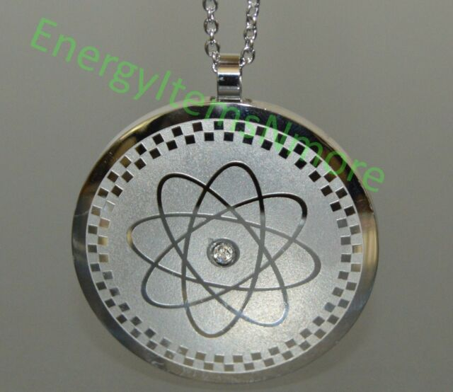 "Power Energy Pendant Scalar Quantum Necklace Emf Protection Bio Science ""4 in 1"""