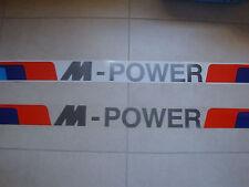 4 Stück Aufkleber Zierstreifen für BMW M Power (Nr.3014)