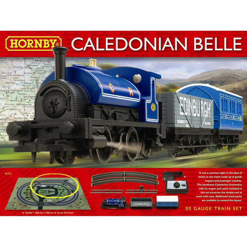 Hornby R1151, Caledonian Belle Train Set