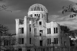NAGASAKI JAPAN ATOMIC BOMB MUSHROOM CLOUD GLOSSY POSTER PICTURE PHOTO PRINT 4013