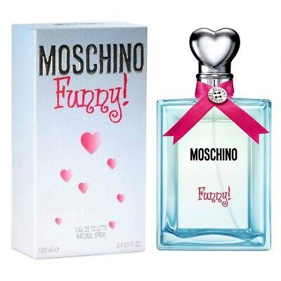 Woman Perfume Moschino Funny 100 Ml 100ml Edt 3 4 Oz Femme Eau De Toilette Spray Ebay