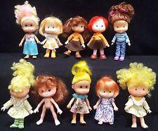 VINTAGE Strawberry Shortcake dolls - lot of 10