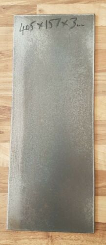 Mild Steel Plate 405mm x 157mm x 3mm.