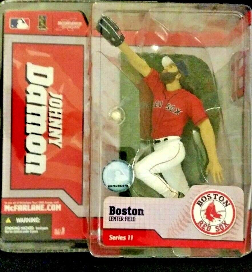 2005 McFarlane Baseball Series 11-13 Johnny Damon Red Action Figure