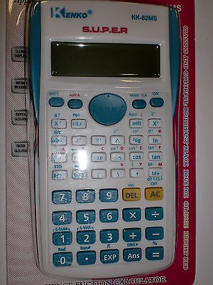 BLUE KENKO SCIENTIFIC CALCULATOR FOR UNIVERSITIES, COLLEGE