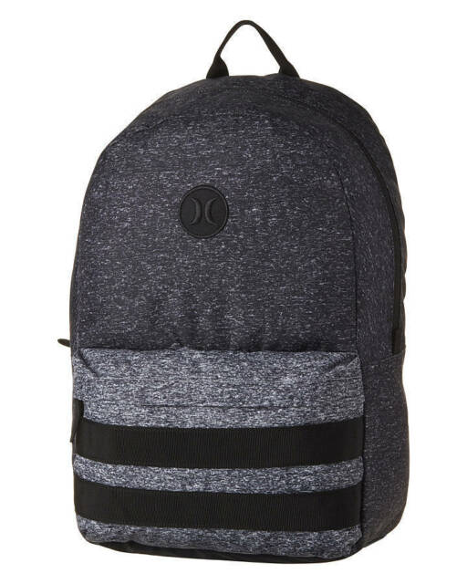 BRAND NEW + TAGS HURLEY 'BLOCK PARTY' LARGE BACKPACK SCHOOL UNI GYM BAG 23L PACK