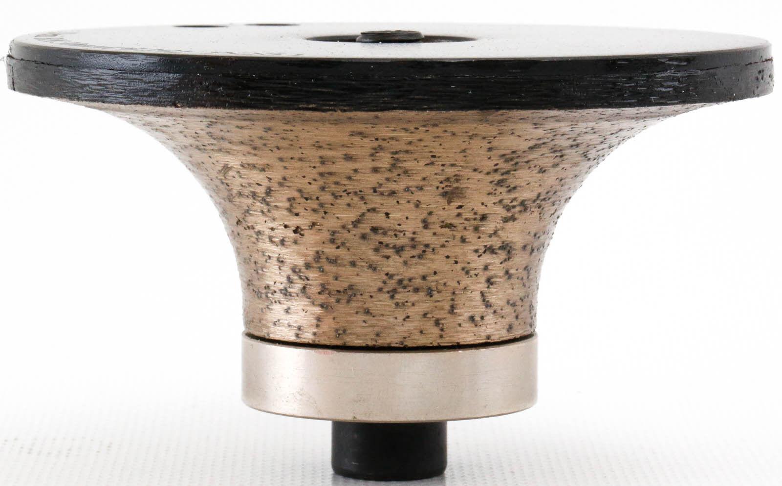 Diamond Router Bit B-20mm Bull Nose Granite Continuous Rim 3 4 Inch Profile 2cm