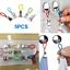 5-pieces-clips-crochet-a-torchon-suspendus-pince-en-metal-pratique-utile miniature 1