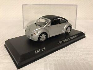 1-43-VW-Concept-Car-266-Kaefer-New-Beetle-Geschenk-Modellauto-Modelcar-Spielzeug