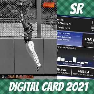 Topps Bunt 21 Charlie Blackmon Stadium Club Orange Base S/2 2021 Digital Card