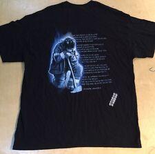 Fireman's Prayer Valor Service Honor Black T-Shirt Tee XL. (GD7)