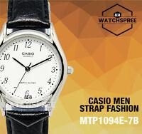 Casio Strap Fashion Men's Watch Mtp1094e-7b