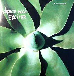 CD-PROMO-SAMPLER-DEPECHE-MODE-EXCITER-CARDBOARD-SLEEVE-RARE-COLLECTOR-PROMO-2001
