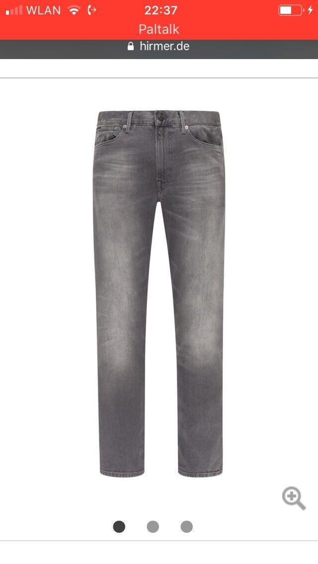 Ralph lauren polo jeans 34-32 Modische Jeans im 5 -Pocket-Design grau Stadtpreis