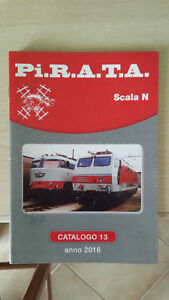 PIRATA catalogo anno 2016 scala N modellismo ferroviario - Italia - PIRATA catalogo anno 2016 scala N modellismo ferroviario - Italia