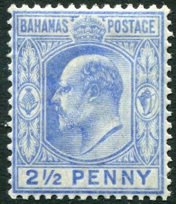 Trustful Bahamas-1906-11 2½d Ultramarine Sg 73 Lightly Mounted Mint V22426 Bahamas (until 1973)